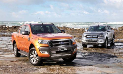 2017 Ford Ranger update announced; SYNC 3, Euro 5 powertrain