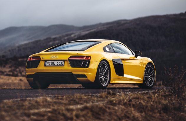 2016 Audi R8 V10-rear