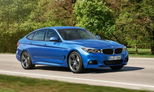 2016 BMW 3 Series Gran Turismo revealed