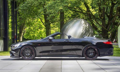 BRABUS creates world's fastest / most powerful 4-seat cabrio