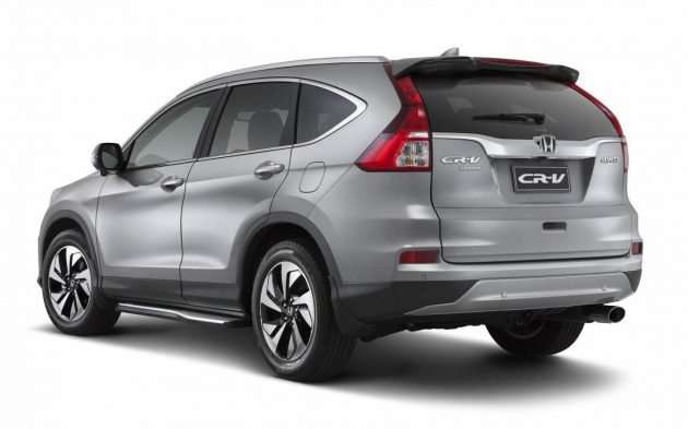 2016 Honda CR-V VTi Limited Edition-rear
