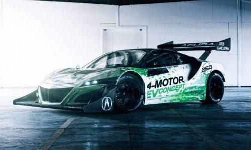 Honda NSX-inspired EV Concept unveiled for Pikes Peak