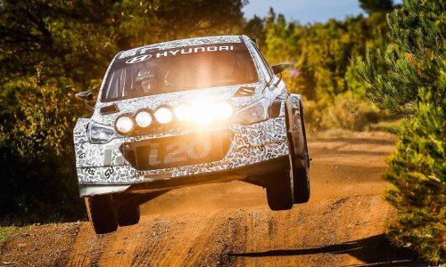 New Hyundai i20 R5 rally car to make public debut at Ypres Rally