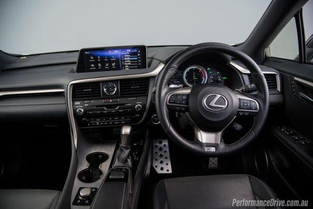 2016 Lexus RX 450h F Sport-interior