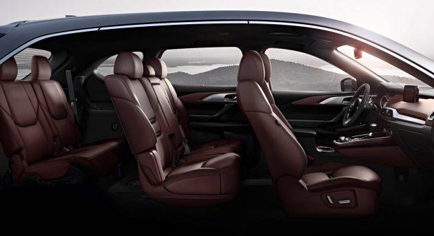 2016 Mazda CX-9 seats