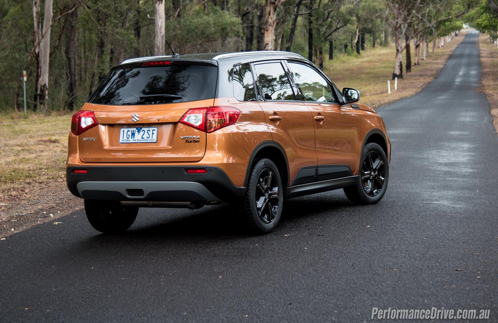 Suzuki Vitara Turbo Review