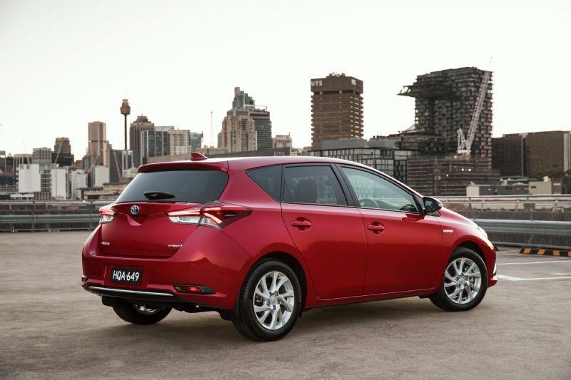 2016 Toyota Corolla Hybrid Now On Sale In Australia From