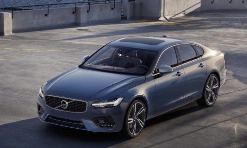 Volvo S90 & V90 R-Design packages revealed