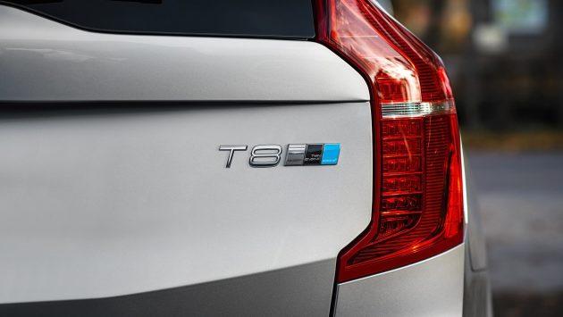 Volvo XC90 T8 Polestar-badge