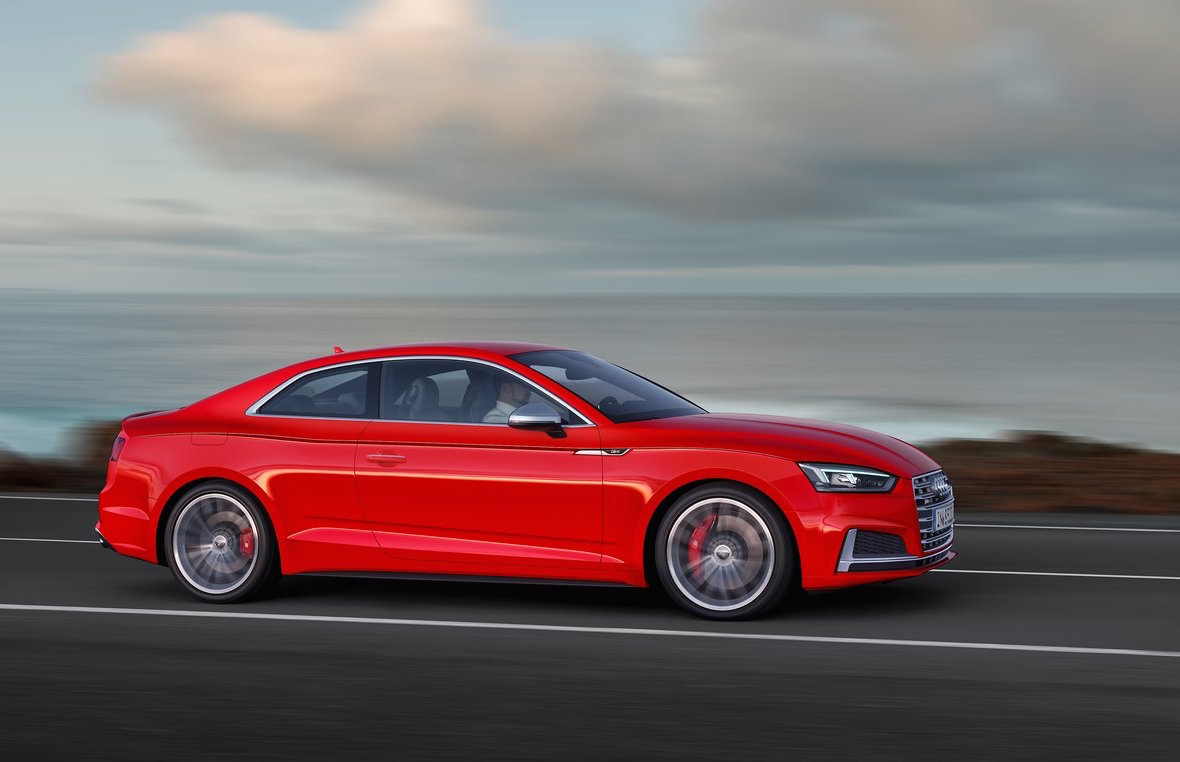 2017 Audi Rs 5 To Use Turbo V6 More Power Than V8