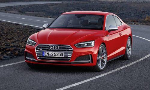 2017 Audi A5 & S5 unveiled; new platform, lighter weight
