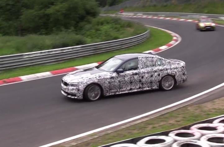 2017 BMW 5 Series G30 prototype