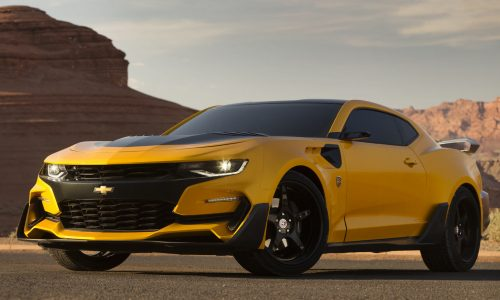 New Chevrolet Camaro Bumblebee ready for Transformers 5
