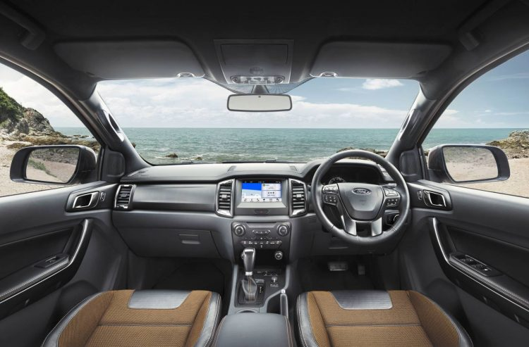 2017 Ford Ranger Wildtrak interior