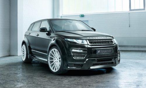 Hamann tuning for 2017 Range Rover Evoque announced