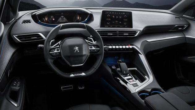 2017 Peugeot 3008 GT-interior