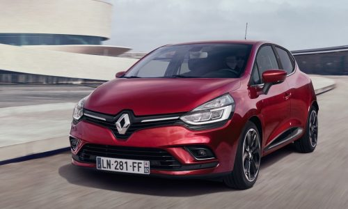 New-look 2017 Renault Clio revealed, updated tech