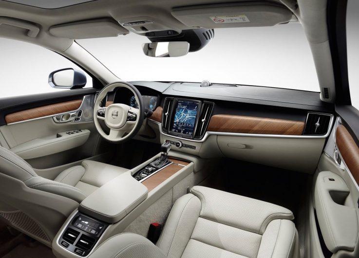 2017 Volvo S90-interior