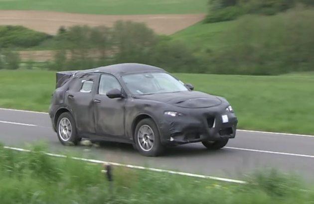 Alfa Romeo Stelvio prototype