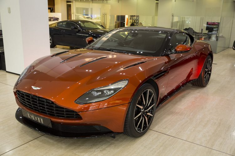 Aston Martin DB11 Sydney-showroom