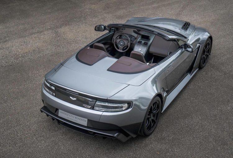 Aston Martin Vantaga GT12 Roadster-roof