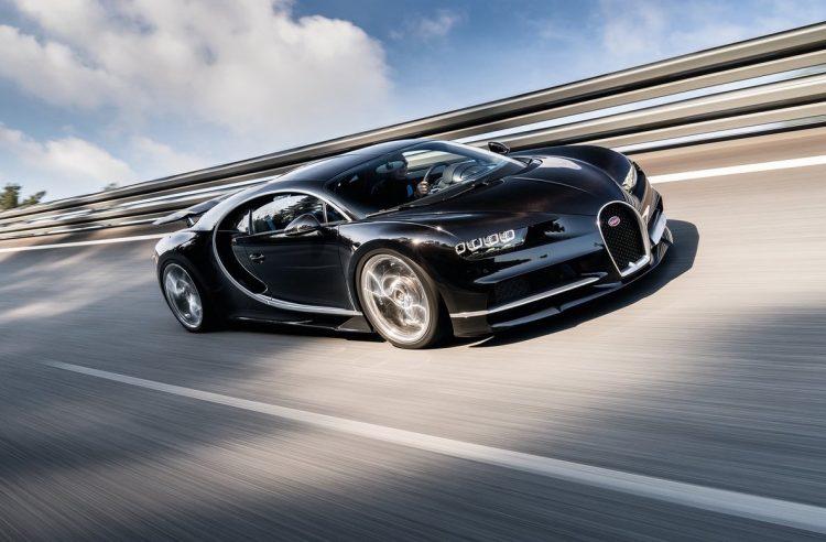 Bugatti Chiron-banked circuit