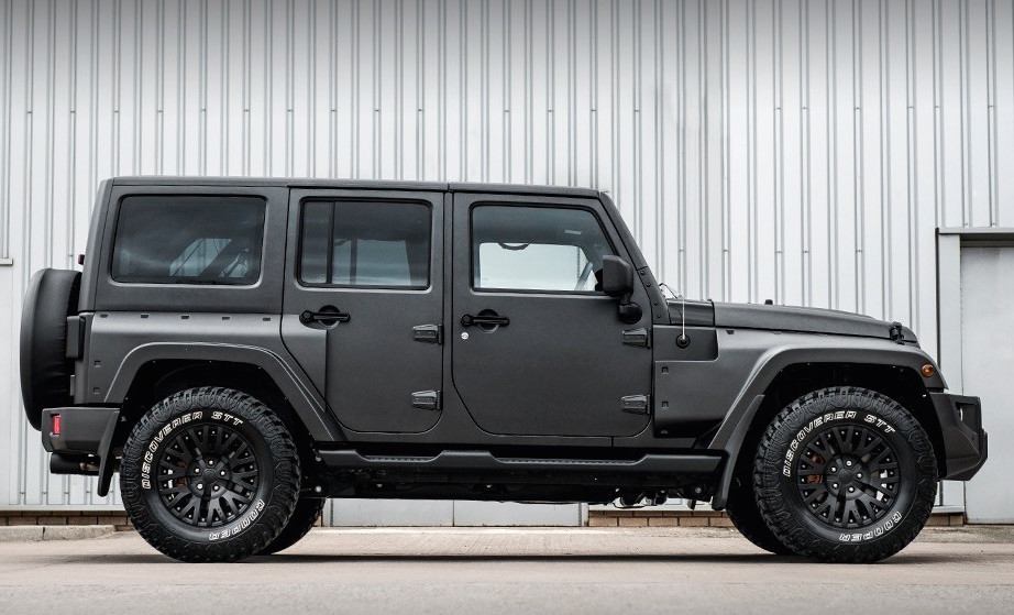 Jeep Wrangler gets makeover by Chelsea Truck Company ...