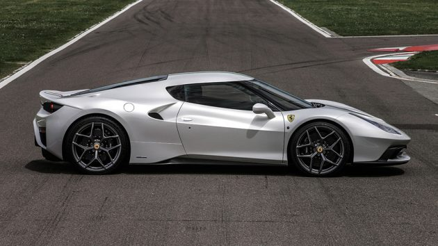 Ferrari 458 MM Speciale-side