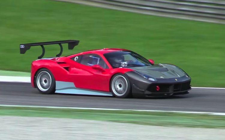 Ferrari 488 Challenge prototype