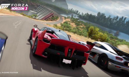 Spectacular Forza Horizon 3 trailer released, based on Australia (video)