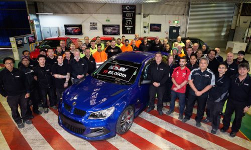 HSV passes 85,000 production milestone, approaches 30th anniversary