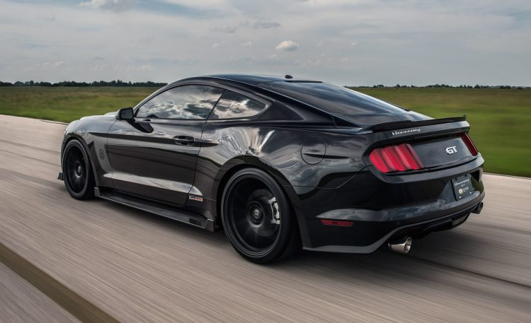 Hennessey Ford Mustang HPE800-rear