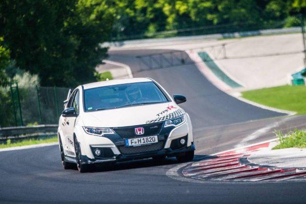 Honda Civic Type R-Hungaroring