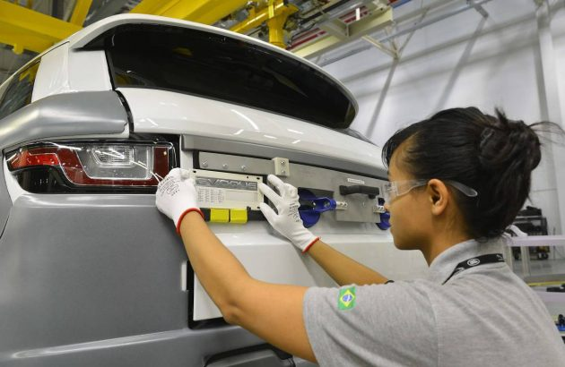 Jaguar Land Rover-Brazil factory