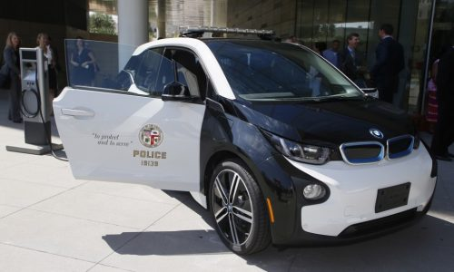 LA Police recruit 100 BMW i3 city cars