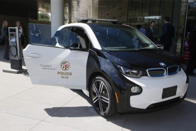 LA Police BMW i3
