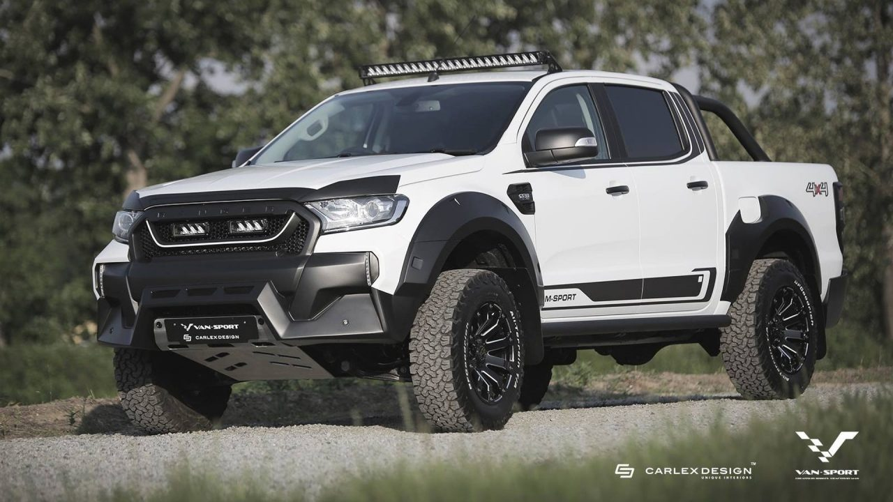 F 150 2018 Black >> M-Sport creates muscly Raptor-like Ford Ranger for Europe | PerformanceDrive