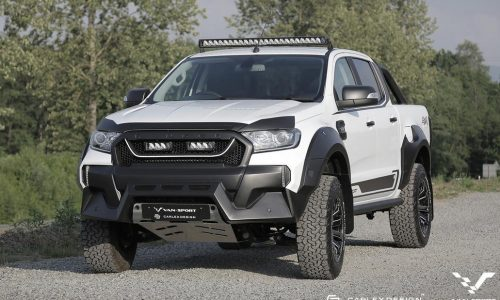 M-Sport creates muscly Raptor-like Ford Ranger for Europe