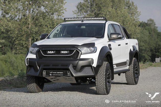 M-Sport Ford Ranger-front