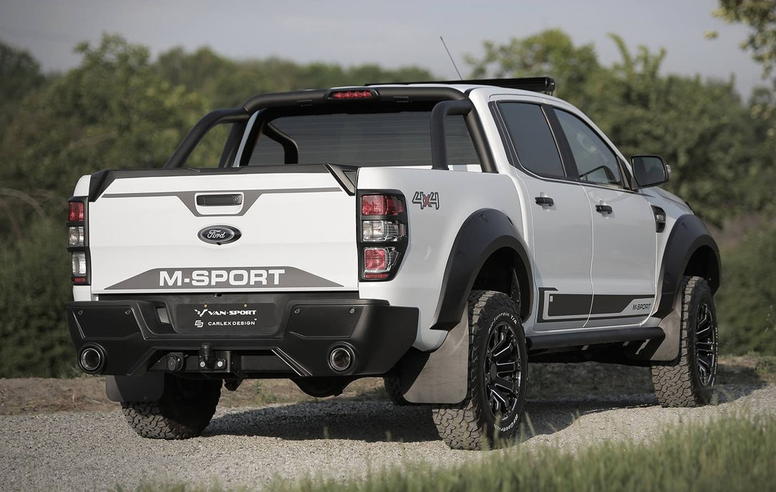 M-Sport creates muscly Raptor-like Ford Ranger for Europe ...