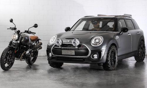 MINI reveals Clubman Scrambler concept, inspired by motorbike