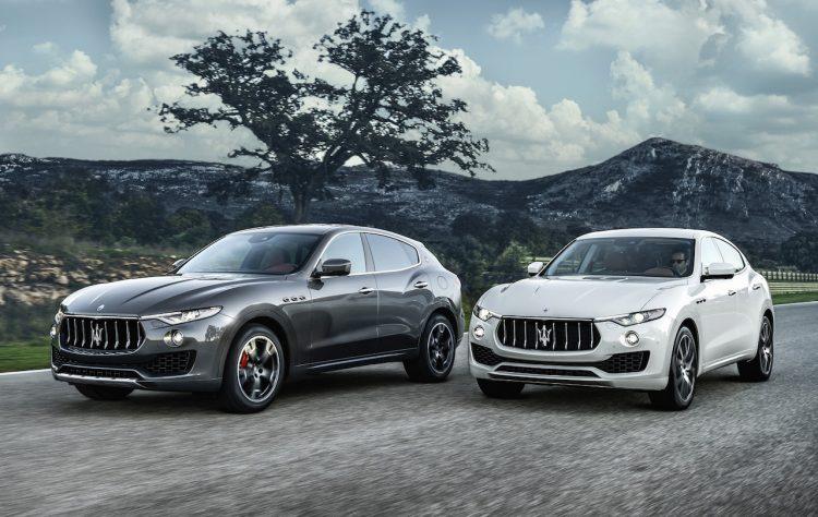 Maserati Levante-road
