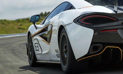McLaren 570S Sprint previewed before Goodwood debut