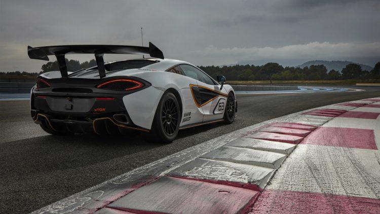 McLaren 570S Sprint-wing