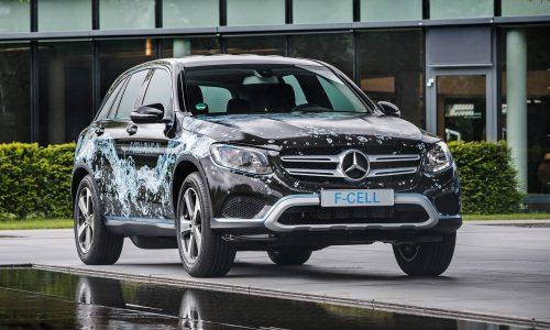 Mercedes unveils world's first plug-in hybrid hydrogen vehicle: GLC F-Cell