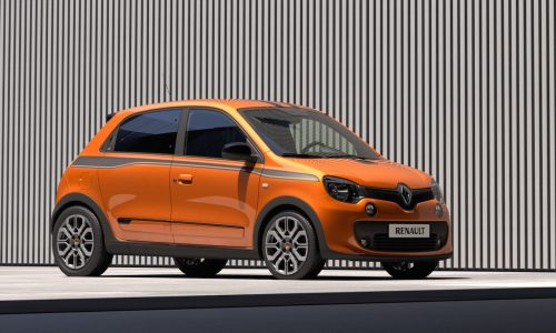 Renault Twingo GT revealed; new RWD super-mini by R.S.