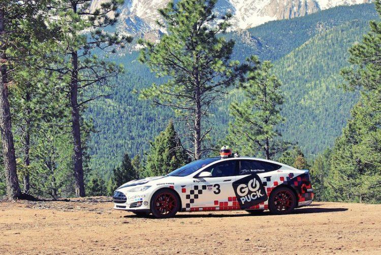 Tesla Model S-Blake Fuller Pikes Peak