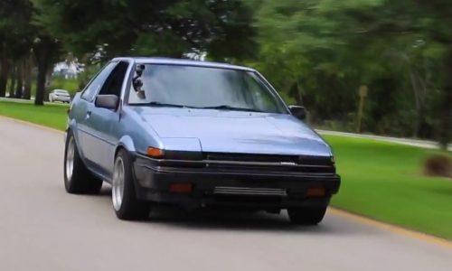 Toyota AE86 gets insane Honda S2000 F22C turbo engine conversion (video)