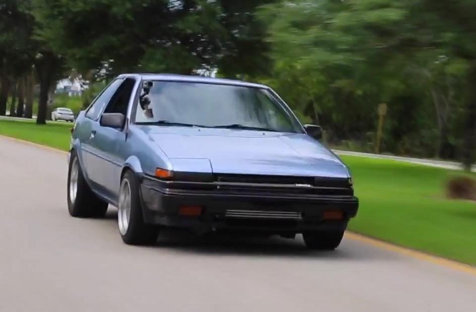 Toyota AE86 gets insane Honda S2000 F22C turbo engine conversion