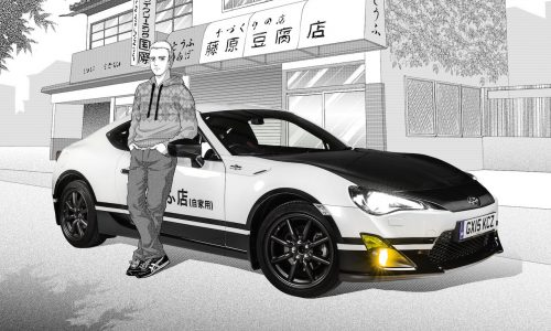 Toyota GT86 Initial D concept harks back to the AE86 Sprinter icon